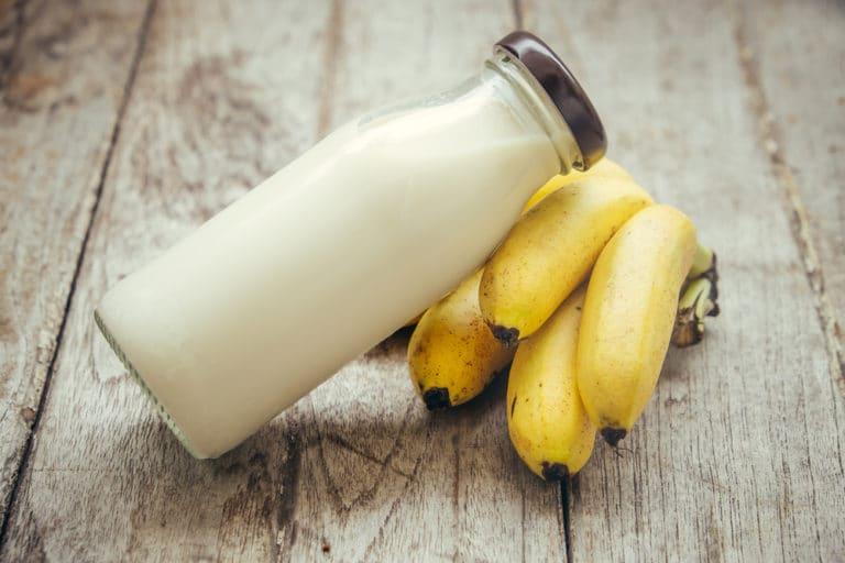 豆乳とバナナを朝ご飯にすることで精力アップ!