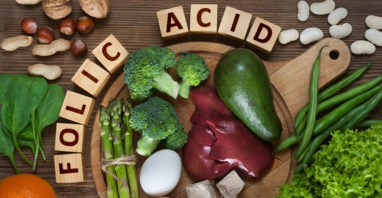 葉酸を豊富に含む食材