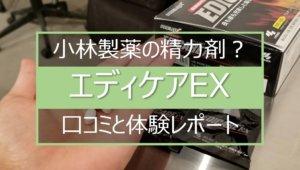 エディケアEXの口コミと体験レポート