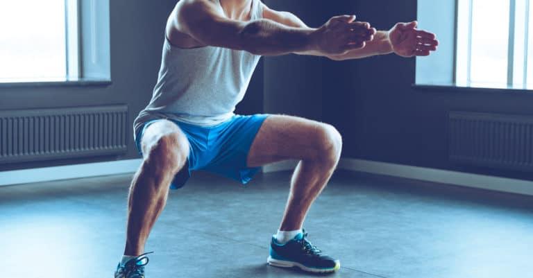 体の外からのアプローチでは、筋トレがおすすめです。