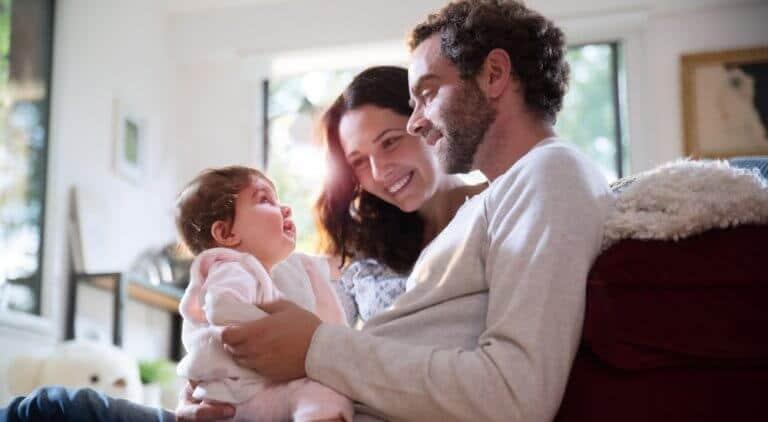 妊活に成功した夫婦
