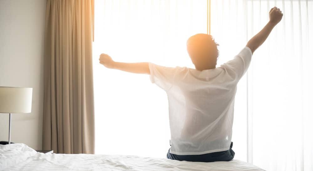 朝の目覚めのタイミング