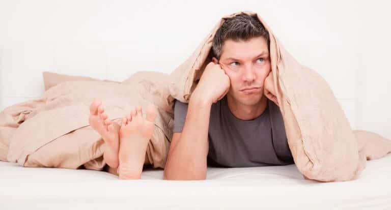 床オナニーのせいで感度が低下した男性