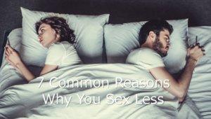 セックスレスになる7つの理由