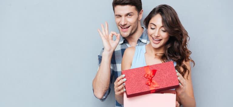 前もってプレゼントを送る