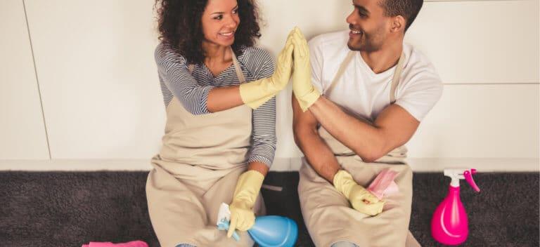 家事や育児を手伝う