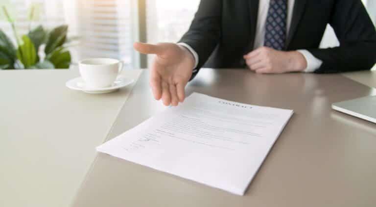 契約内容の確認