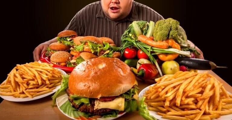 脂肪の多いファーストフード