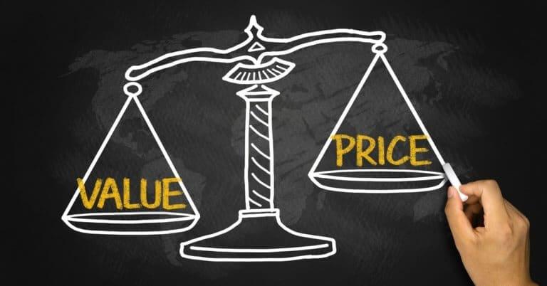 適正な価格を理解する