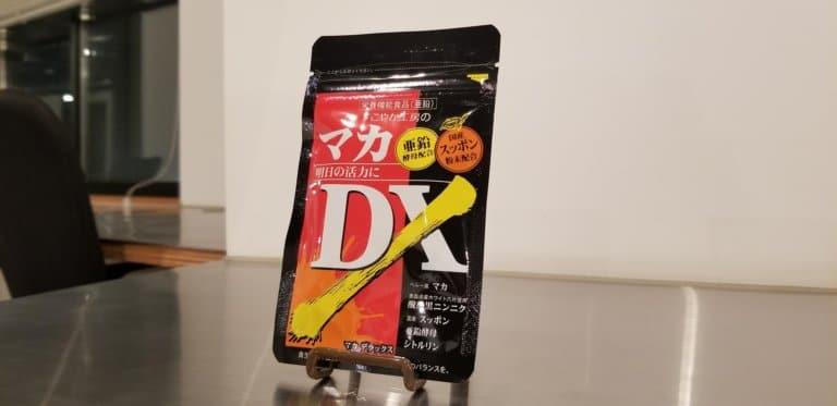 マカDXのパッケージ