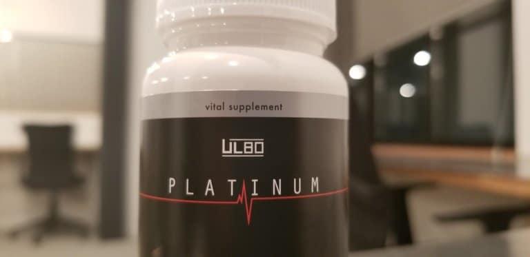 ULBO PLATINUMのパッケージ