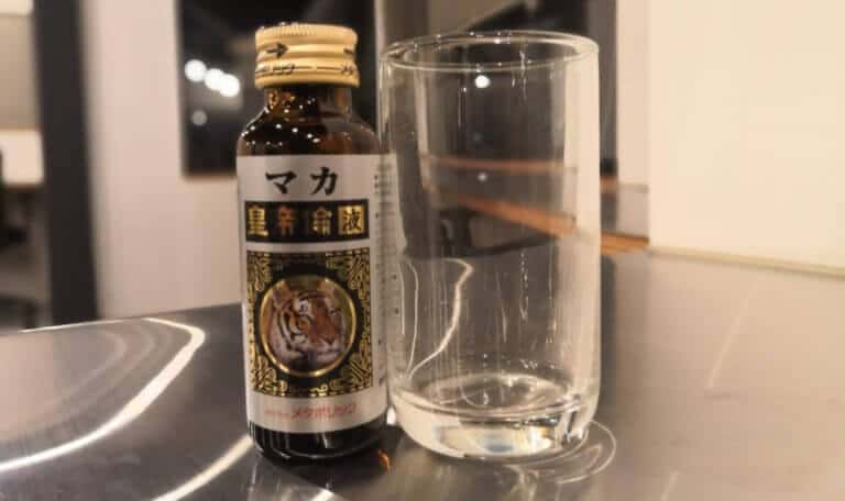 マカ皇帝倫液の空瓶