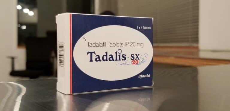 タダリスのパッケージ