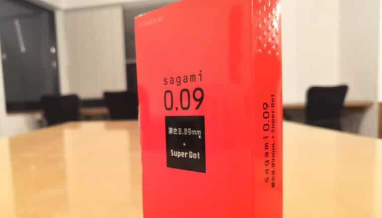 サガミ0.09ドットのパッケージ