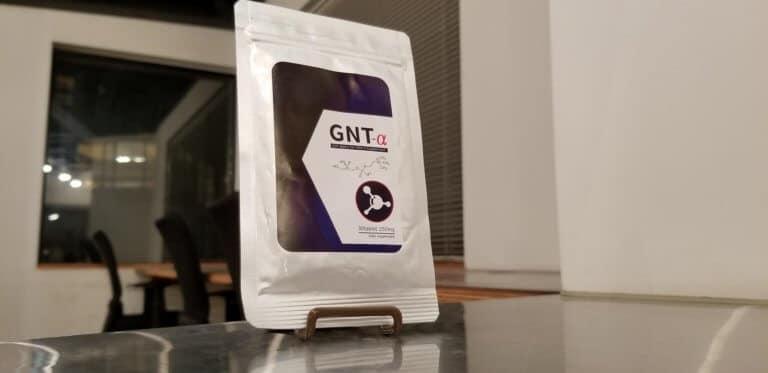 GNT-αのパッケージ表