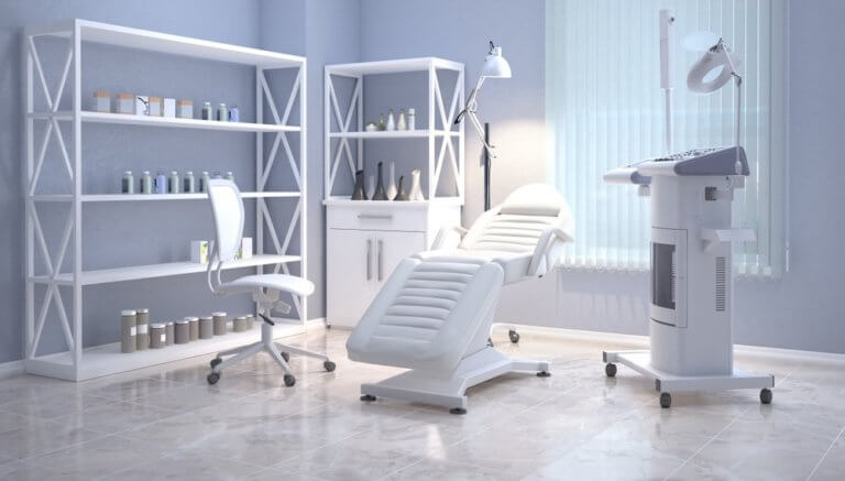 クリニックの治療室