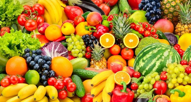 複数種類のフルーツ