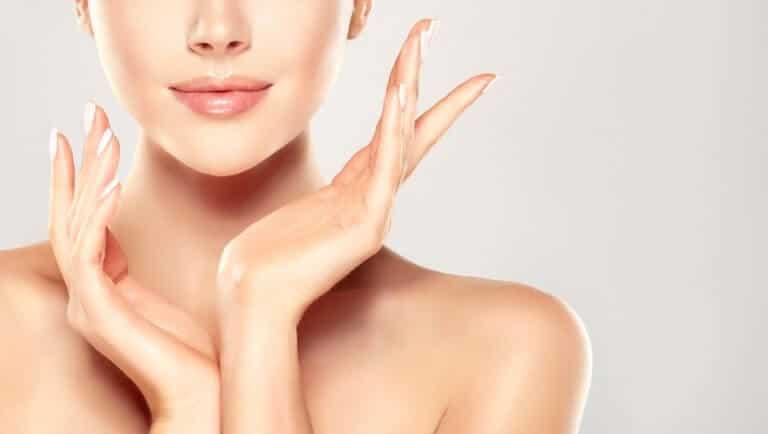 女性の美肌効果