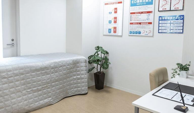 六本木EDクリニックの診察室