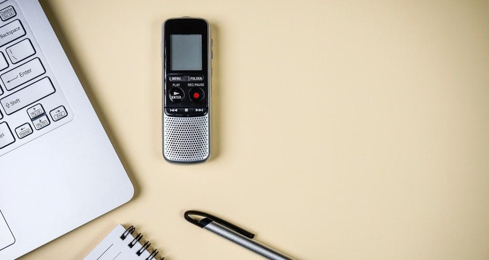 録音用のデバイス