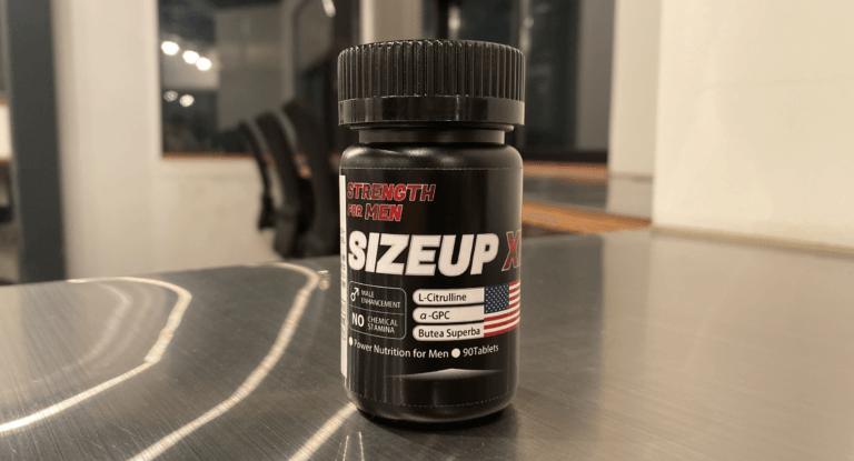 SIZEUP XLのパッケージデザイン