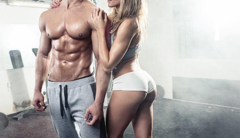 セックスをしてダイエットするカップル