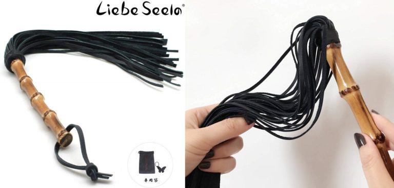 本革 手作り 鞭 ムチ 50cm 竹 ハンドル ブラック レザー SM ボンデージ コスプレ道具