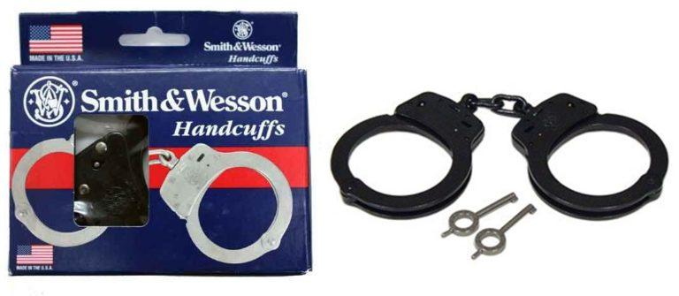 Smith & Wesson スミス&ウェッソン ハンドカフ 手錠 Model 100-1 ブラック
