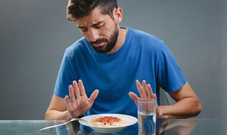 食が細い男性