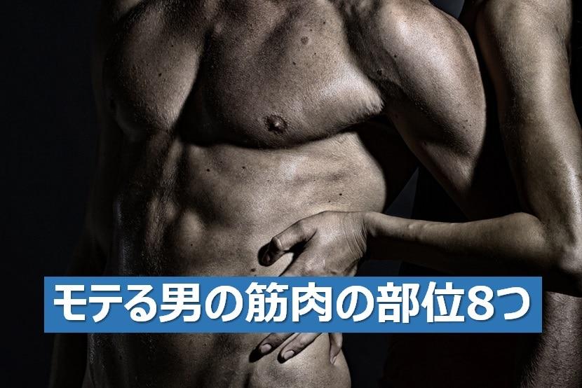 モテる筋肉8選