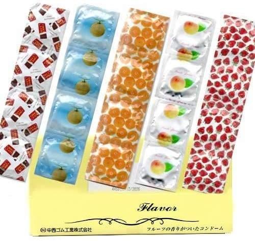 お試し 業務用コンドーム 香り付きコンドーム 5種類