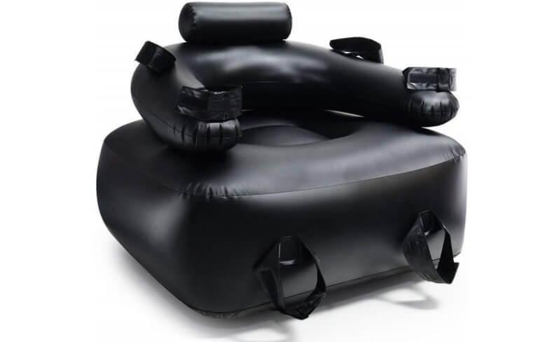 簡易的な拘束椅子