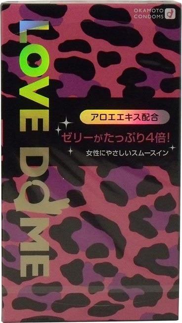 オカモトシー LOVE DOME(ラブドーム)コンドーム パンサー 12個入 ×3個セット