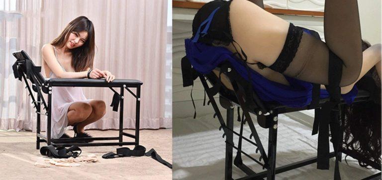 スプレッダーバーエクストリームボンデージセット、調節可能な手足付き拘束椅子システム
