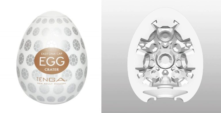 TENGA エッグ クレーター EGG CRATER 【多面突起のゴロゴロ刺激】 ハードゲルバージョン