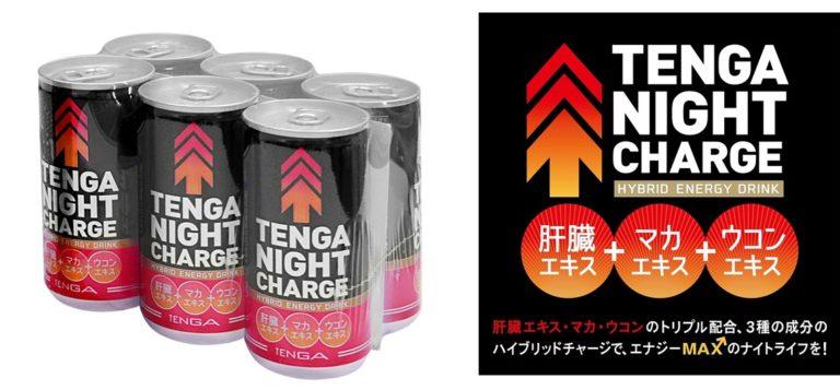 TENGA NIGHT CHARGE テンガ ナイトチャージ 6本入り【ハイブリットエナジードリンク】
