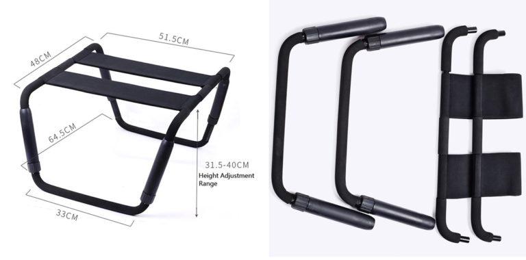 RGA セックス ソファ 拘束具騎乗位とセックスチェア/刺激的なセックス SEXイス 高さ調節可能セックスが楽しくなる便利チェア Loving Chair (Plusサイズ)