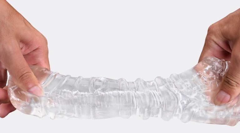 透明で射精の瞬間も確認出来るオナホ