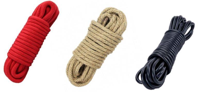 三種類のSM用縄