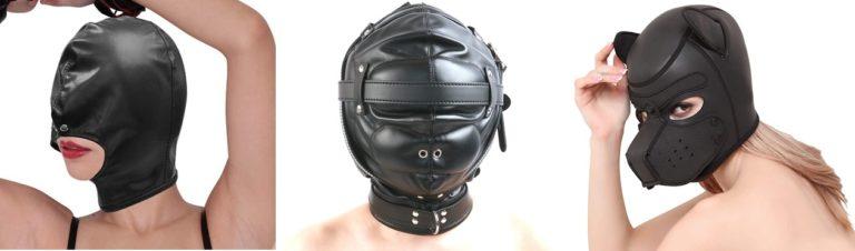様々な種類のSM全頭マスク