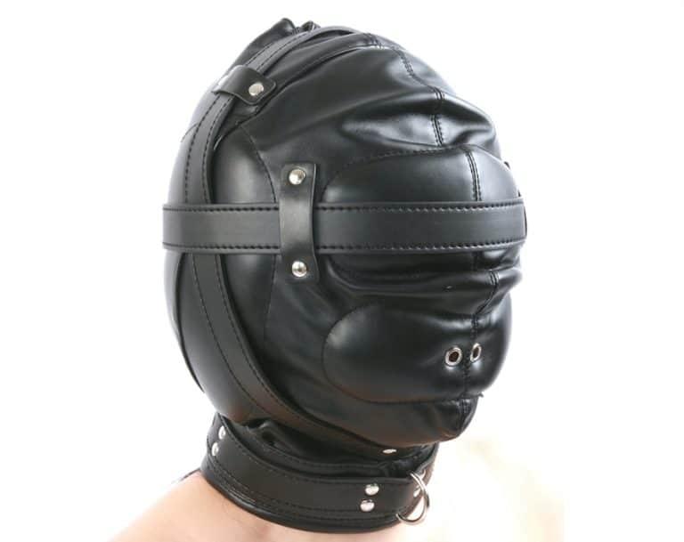 顔面全頭マスク