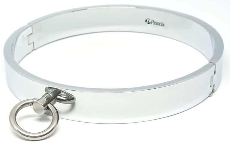 メタル製の首輪