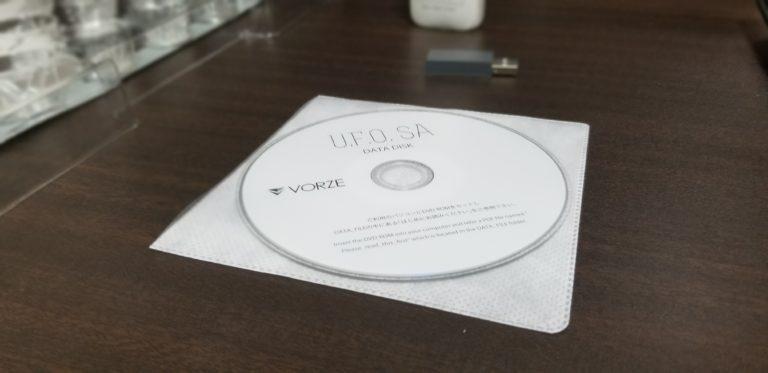 U.F.O SA同梱のDVDR