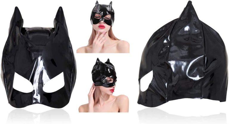SM 全頭マスク キャットマスク キャット仮面 黒猫マスク 目出し コスプレ マスカレード パーティー 衣装 コスチューム セクシー コスプレ衣装 仮装 大人のおもちゃ