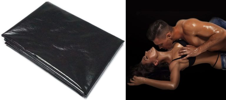 Fashionwu シートベッドカバー セックスボンデージ 防水寝具セット PVC シーツ