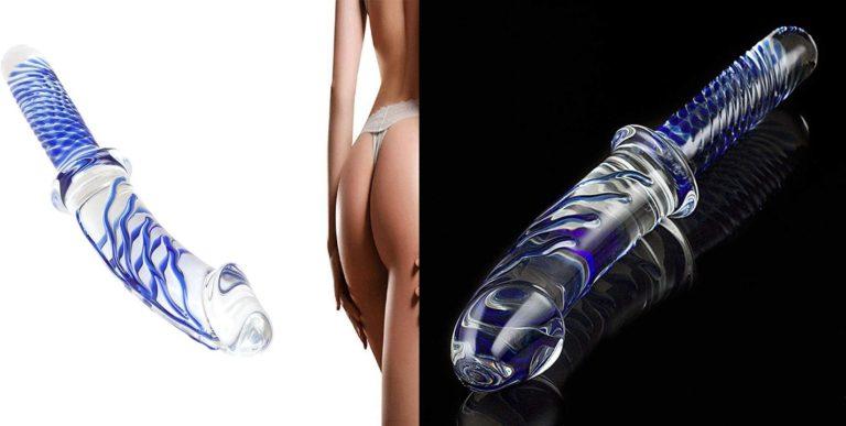 女性用 ガラス ディルド ペニス 潮吹き セックスの道具 全長約28cm 最大直径約5cm