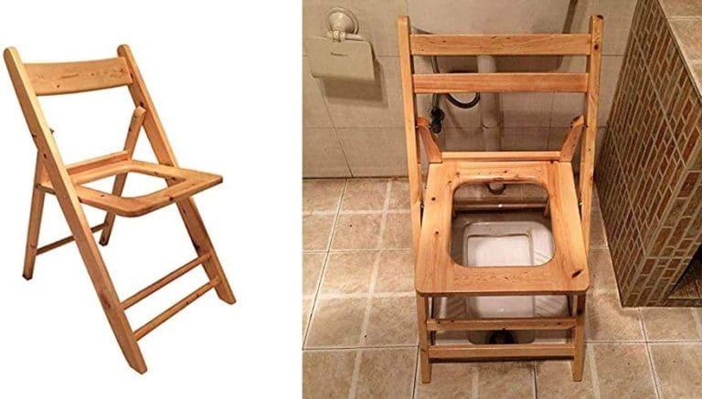 純木妊娠中の女性トイレ、便座、防水および防湿、トイレ穿孔医療用椅子バスルーム病棟
