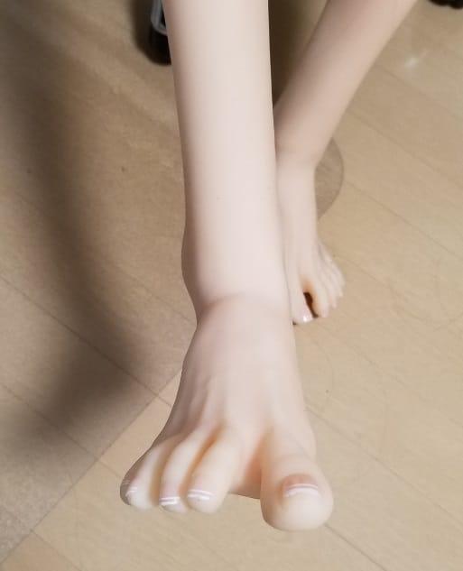 カナドールの足の指