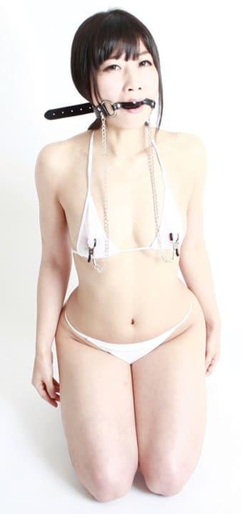SM風の乳首拘束具