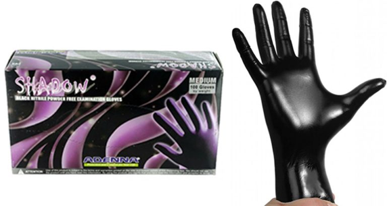 Black Nitrile Examination Gloves(ブラックニトリルエグザミネーショングローブ)